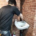名古屋市昭和区/手洗い水栓の水漏れ修理