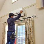 名古屋市千種区/家庭用エアコン取付工事