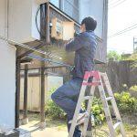 名古屋市昭和区/アンテナ分配工事